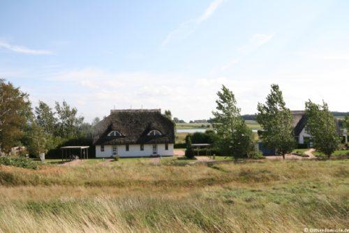 Außenansicht – Ferienhaus Boddenblick