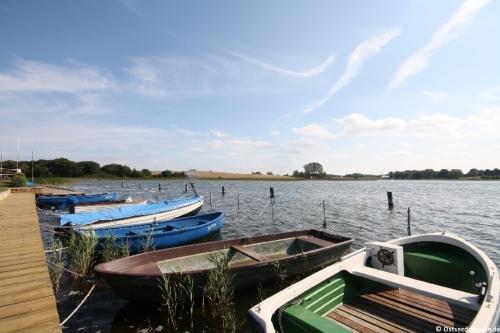 Hafen von Neuenkirchen-Grubnow – Ferienhaus Boddenblick