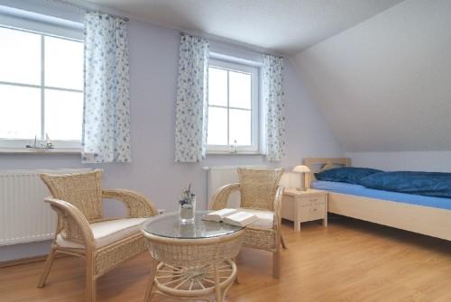 Schlafzimmer II – Ferienhaus Dornbusch