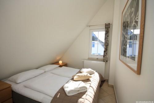 Schlafzimmer III (Obergeschoss) – Ferienhaus Sonnenwiese