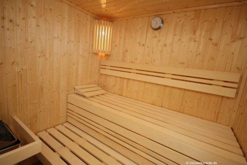 Sauna – Ferienhaus Treibholz