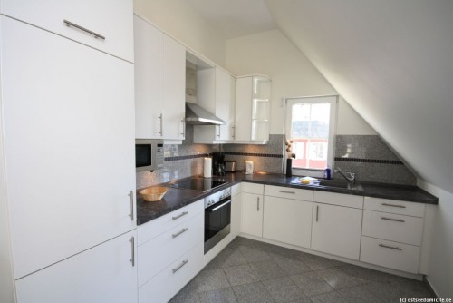 Küche – Ferienwohnung Arkonablick (OG)