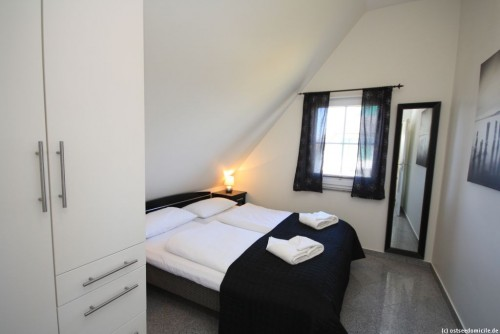 Schlafzimmer I – Ferienwohnung Arkonablick (OG)