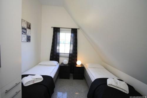 Schlafzimmer II – Ferienwohnung Arkonablick (OG)
